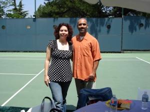 Sarah y Paul mientras vivíamos en California - nuestra vida en aquel momento.